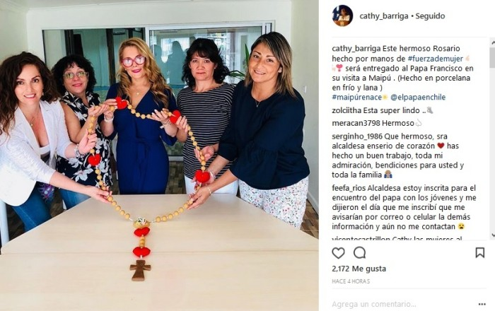Cathy Barriga | Instagram