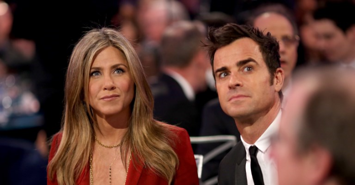 Jennifer Aniston se habría reunido con Justin Theroux por un triste motivo