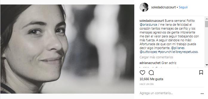 Soledad Cruz | Instagram