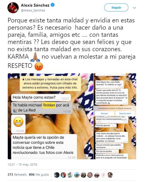 Alexis Sánchez | Twitter