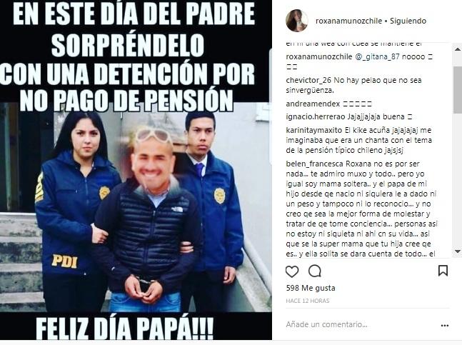 Roxana Muñoz / Instagram
