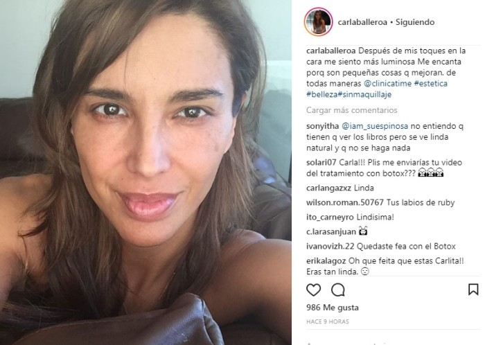 Carla Ballero / Instagram