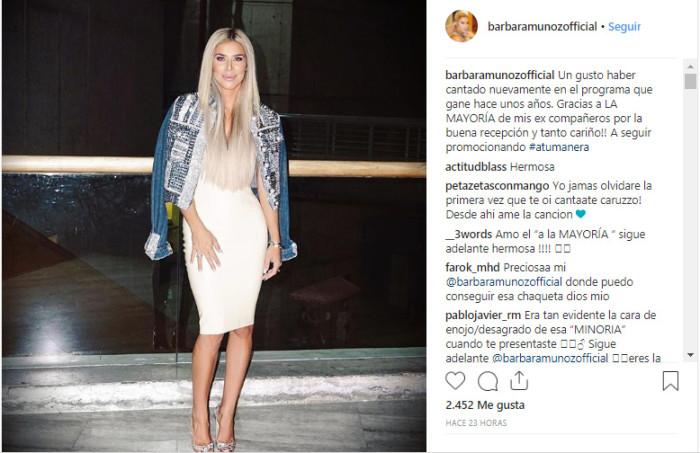 Bárbara Muñoz | Instagram