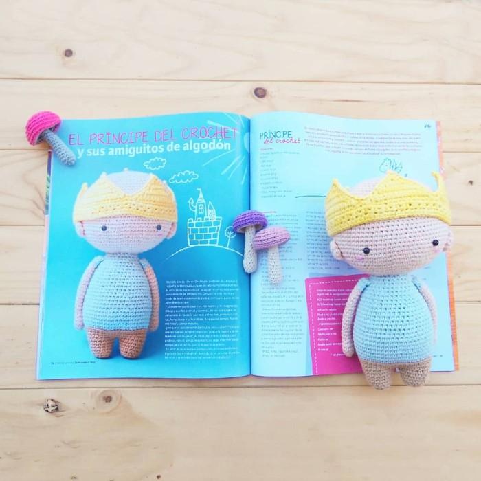 Príncipe del crochet: el joven ovallino que suma seguidores con sus ...