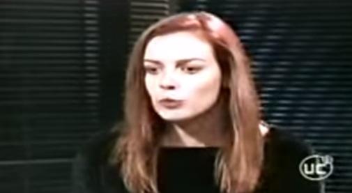 Claudia Conserva en Fuera de control/ Youtube
