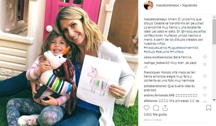 Macarena Tondreau / Instagram