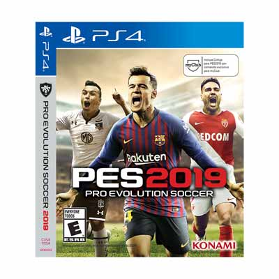 Juego Sony Ps4 Pro Evolution Soccer 2019