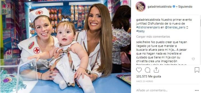 Gala Caldirola / Instagram