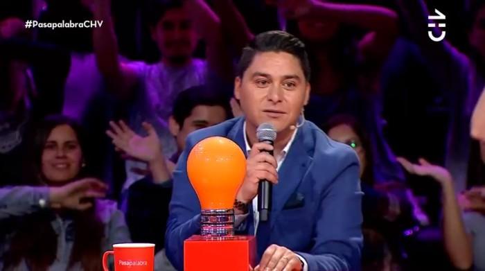 Daniel Araya se llevó el Rosco y ganó $176 millones en Pasapalabra