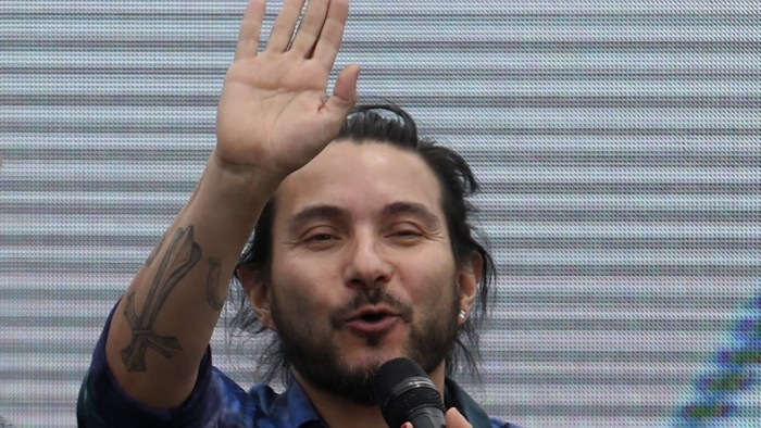 La rutina de Felipe Avello en el Festival del huaso de Olmué