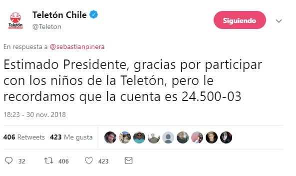 Captura Twitter | TeletónChile