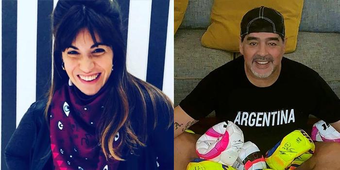 Giannina Maradona respondió las burlas con un polémico gesto