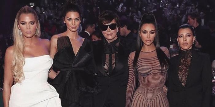 Las Kardashian lanzaron su reducida tarjeta de navidad