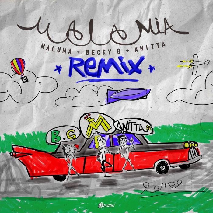 Mala Mía | Remix