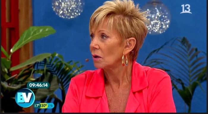 Raquel Argandoña recibió críticas en redes tras delicado comentario sobre el 11 de septiembre del 73