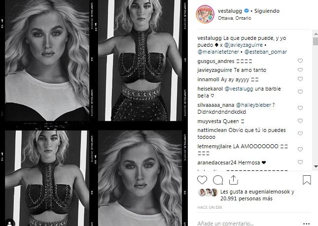 Vesta Lugg / Instagram
