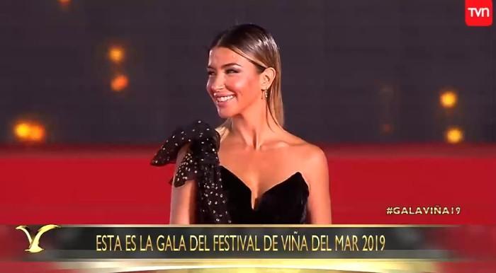 Acerto Con Su Eleccion Francisca Merino Deslumbro Con Su Vestido En