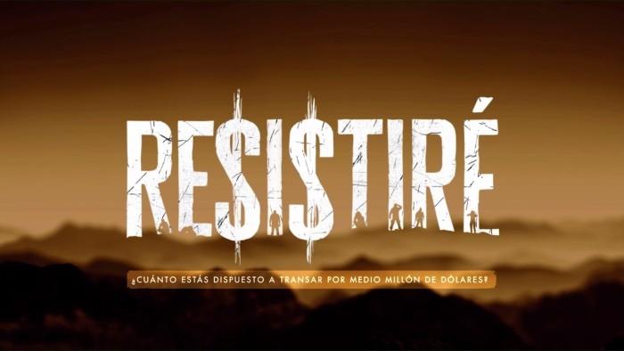Facundo conducirá el nuevo reality de supervivencia 'Resistiré'