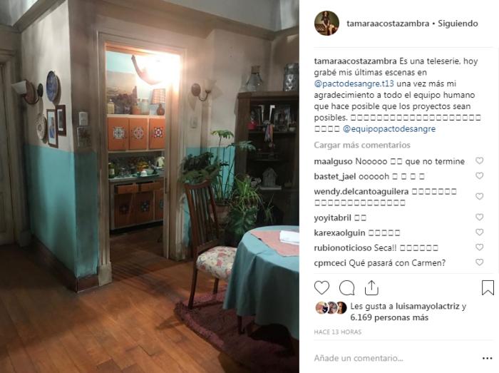 Tamara Acosta | Instagram