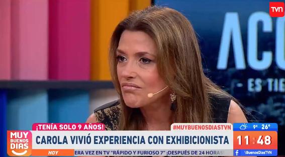 """Carolina Arregui reconoció que fue acosada por exhibicionistas siendo menor de edad: """"Es traumático"""""""