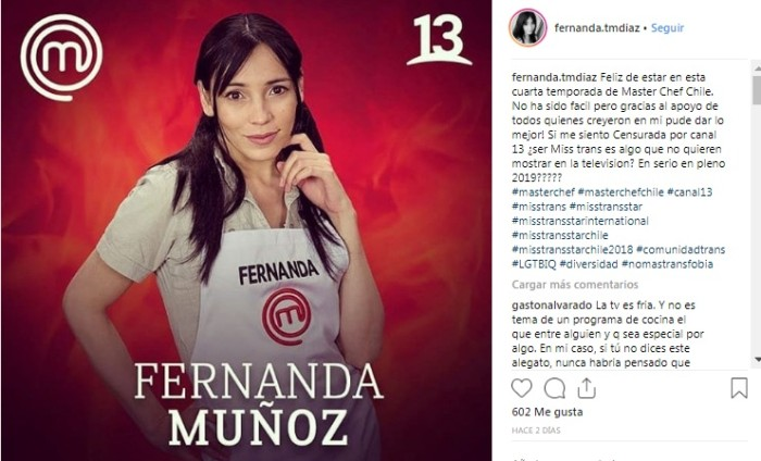 Fernanda Muñoz / Instagram