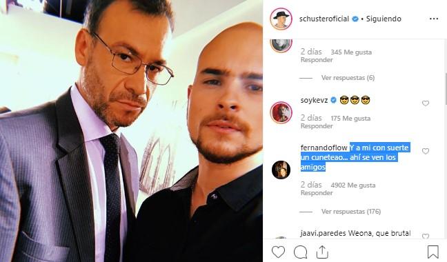Augusto Schuster fue trolleado por Fernando Godoy