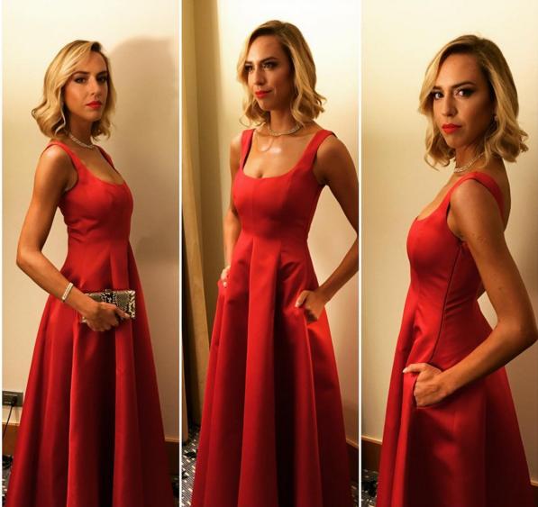 Vale Ortega en la Gala de Viña 2016 | Instagram