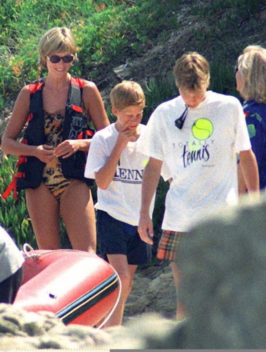 nombres prohibidos por  princesa Diana para sus hijos