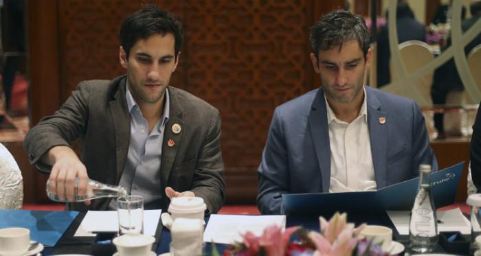 """Piñera prohíbe """"de por vida"""" que sus hijos hagan negocios con empresas que tuvieron cita en China"""