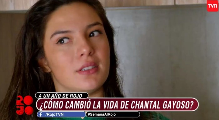 Chantal Gayoso y Francisco Solar terminaron en verano del 2019