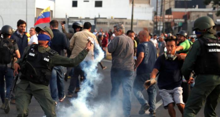 Juan Guaidó convocó una masiva movilización en contra de Nicolás Maduro