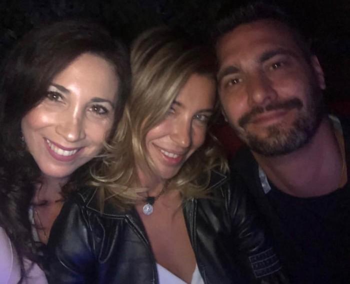 Andrea Marocchino, Pancha Merino y su hermana