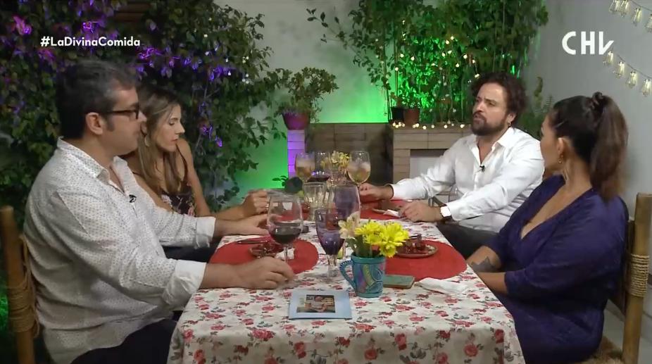 Ignacio Achurra La divina comida chv acoso