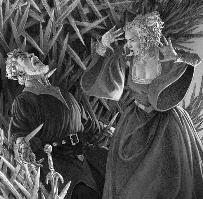 Ilustración de Dough Wheatley | FIRE AND BLOOD BOOK