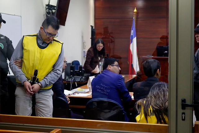 Francisco Silva y Johanna Hernández en juicio por caso Nibaldo