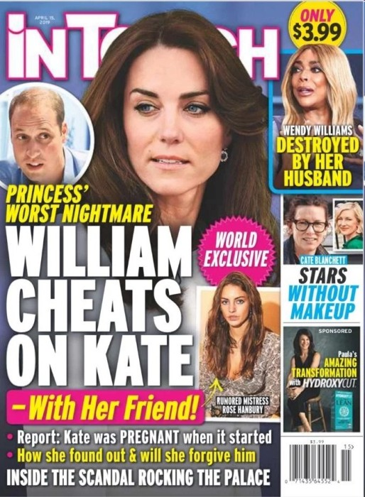 """Príncipe William negó rumores de infidelidad de la forma más """"real"""" posible: mediante sus abogados"""