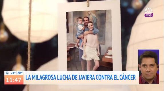 Javiera Suárez llora al hablar de su marido