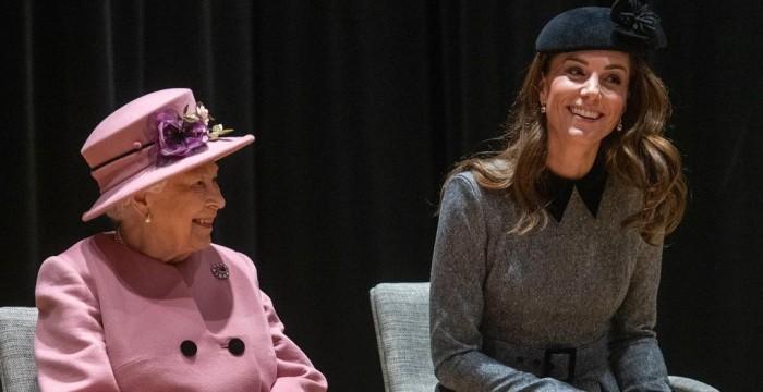 Regalo de reina Isabel a Kate Middleton
