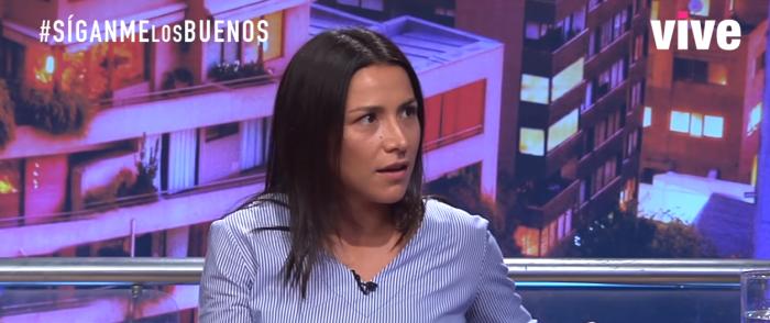 Loreto Aravena se descargó tras polémica con Arturo Longton: