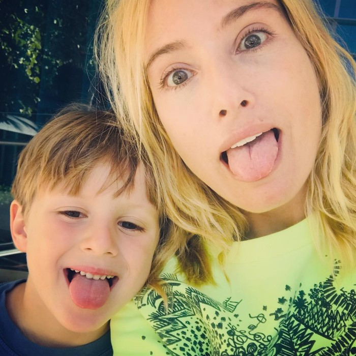Mane Swett actriz hijo instagram