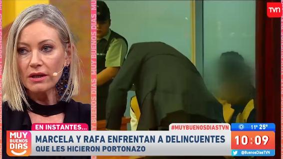 Marcela Vacarezza abandonó el 'Muy Buenos Días' para asistir al juicio del violento robo que sufrió