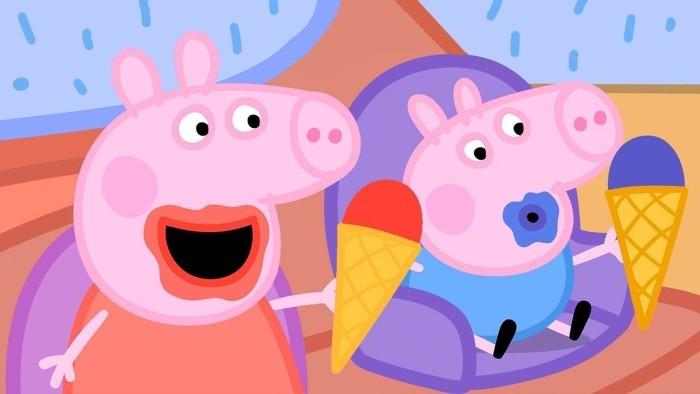 por qué a los niños les gusta peppa pig