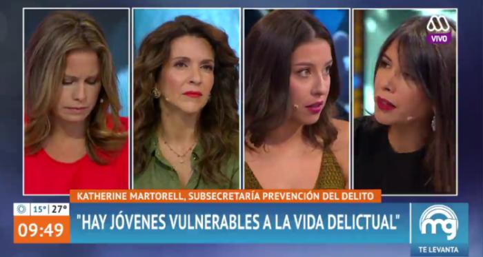 Defensora de la Niñez denuncia que fue 'bajada' de panel en Mucho Gusto tras recibir invitación