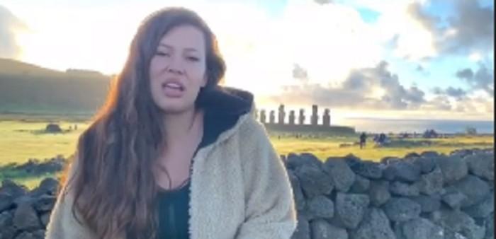 Michelle Carvalho se defiende tras faltar el respeto a comunidad Rapa Nui