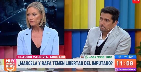 Rafael Araneda y Marcela Vacarezza se refirieron a resultado de el juicio contra sujetos que les realizaron portonazo en 2017
