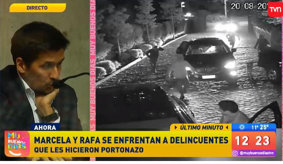 El desgarrador relato de Rafael Araneda sobre el violento 'portonazo' que sufrió en 2017