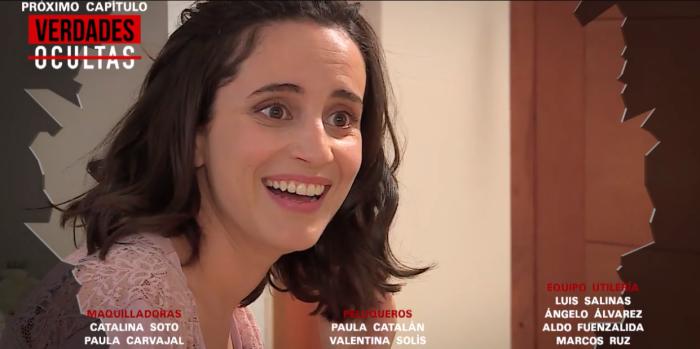 Poco realista reacción de Rocío al romper bolsa en Verdades Ocultas