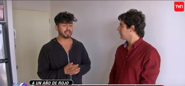Ya se está instalando: Hernán Arcil mostró en Rojo el departamento que se ganó en el programa