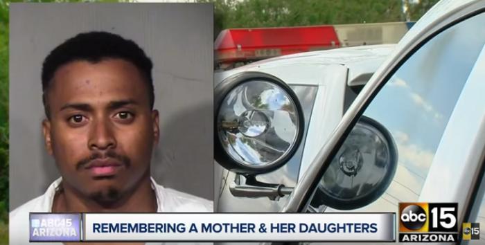 Niña se escondió debajo de la cama cuando su padre mató a su madre y hermanas