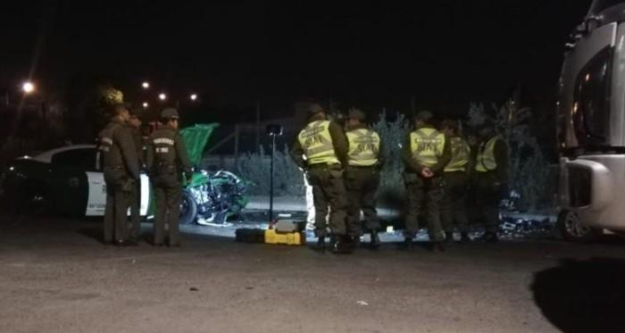 Intensa persecución en Maipú terminó con asaltante de 15 años muerto y dos carabineros heridos